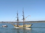 The Plover near the Lady Washington