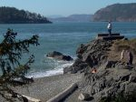 Site from one of the Beaches Deception Pass, Washington State
