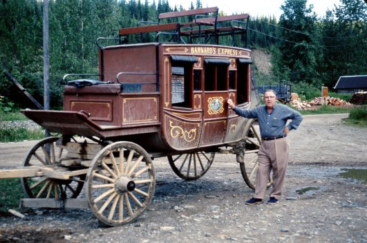 BARKERVILLE OLD GOLD RUSH TOWN AND MY DAD Summer 1966