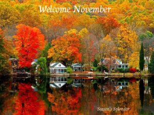 "Autumn Color from ""Season's Spleador"""